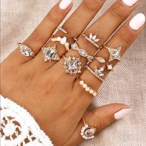 Jewelry - 💎decor ring set💎